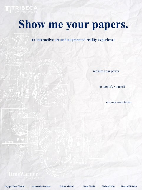 Show me your papers poster