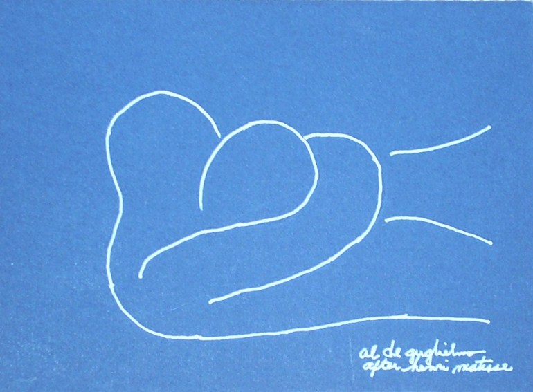 Embrace 2 after Henri Matisse